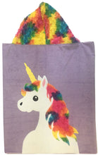 Load image into Gallery viewer, Unicorn Boogie Baby Hooded Towel