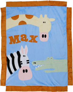Wild Party Boogie Baby Blanket