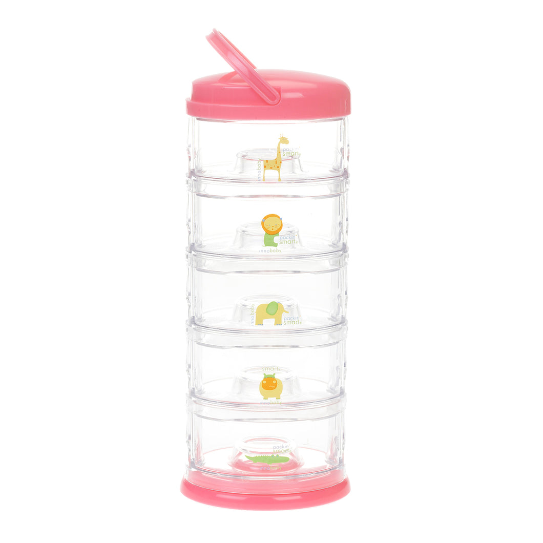 Innobaby Packin' Smart Stackables-5 TIER-ZOO ANIMAL