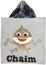 Load image into Gallery viewer, Baby Shark Boogie Baby Hooded Towel