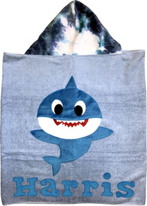 Baby Shark Boogie Baby Hooded Towel