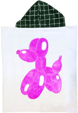 Load image into Gallery viewer, Balloon Dog Boogie Baby Hooded Towel