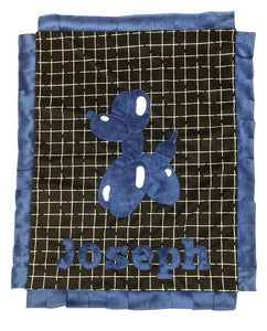 Balloon Dog Boogie Baby Blanket