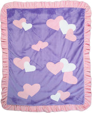 Load image into Gallery viewer, Confetti Hearts Boogie Baby Blanket