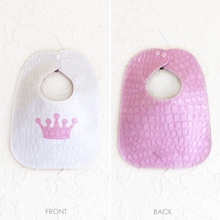 Load image into Gallery viewer, Boca Baby Company Vinyl Bib - Crown