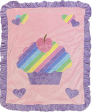 Load image into Gallery viewer, Cupcake Boogie Baby Blanket