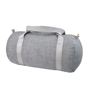 Grey Chambray Medium Duffle