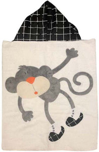 Hanging Around Boogie Baby Hooded Towel