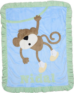 Hangin' Around Boogie Baby Blanket