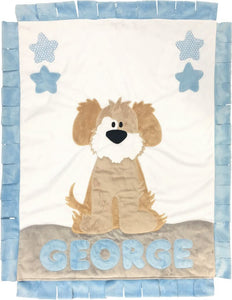 My Dog Spot Boogie Baby Blanket