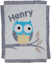 Load image into Gallery viewer, The Hoo Boogie Baby Blanket