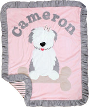 Load image into Gallery viewer, Puppy Love Boogie Baby Blanket