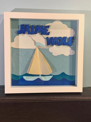 Sailboat Shadow Boxes
