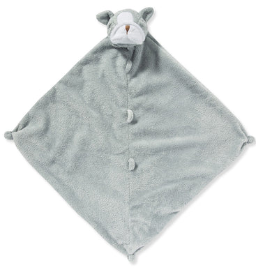 Angel Dear Security Blanket/Lovie - Grey Bulldog