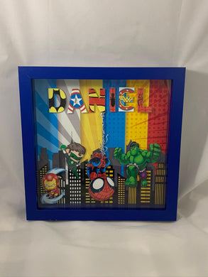 Superhero Shadow Boxes
