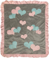 Load image into Gallery viewer, Sweethearts Boogie Baby Blanket