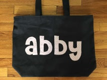 Load image into Gallery viewer, Medium Zippered Tote Bags