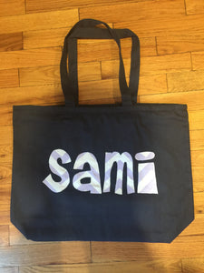 Medium Zippered Tote Bags