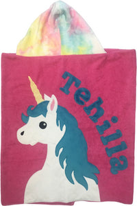 Unicorn Boogie Baby Hooded Towel