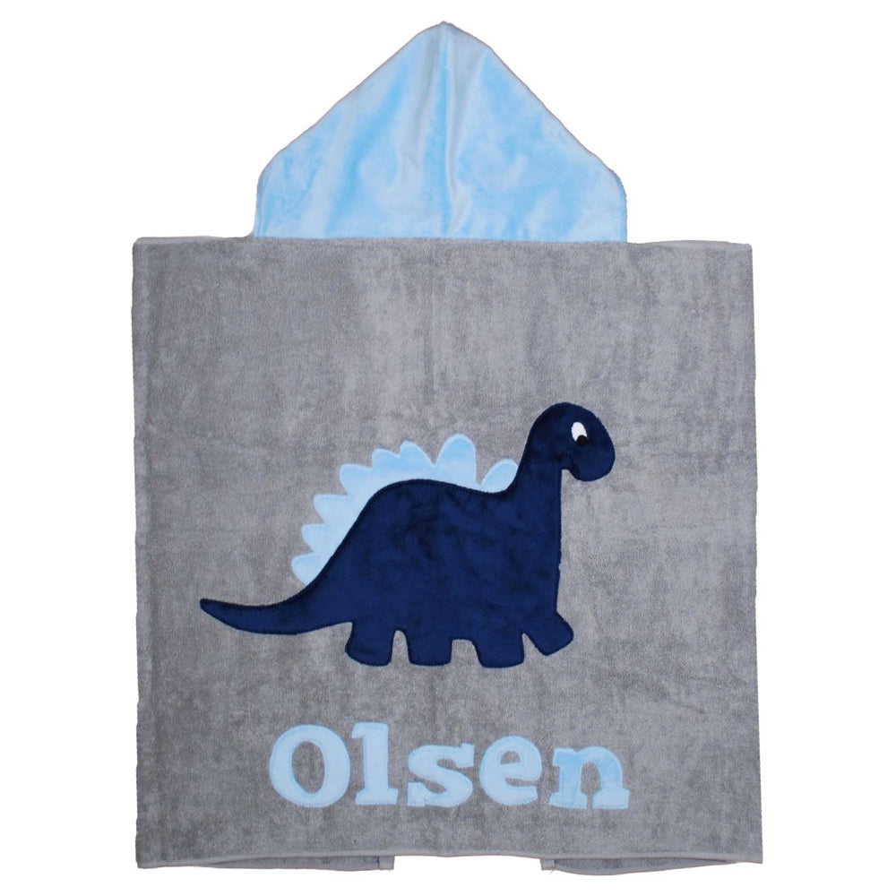 Dinosaur Boogie Baby Hooded Towel