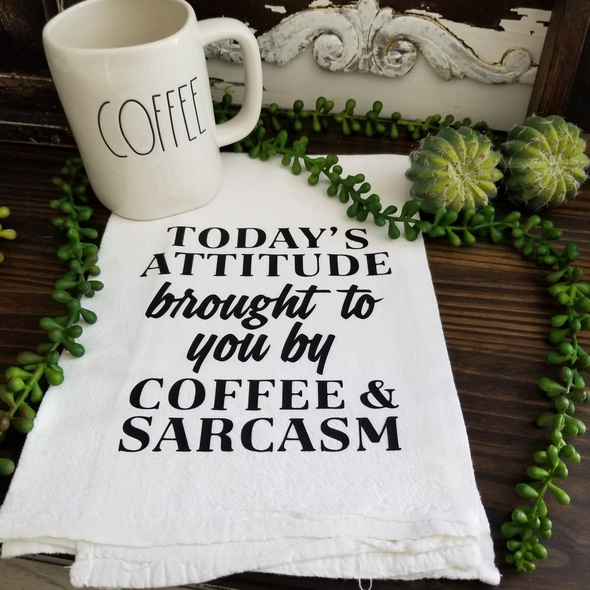 Coffee and Sarcasm