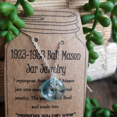 Mason Jar Necklace Design #2