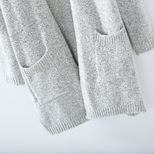 Load image into Gallery viewer, Long Sleeve Loose Knitted Cardigan