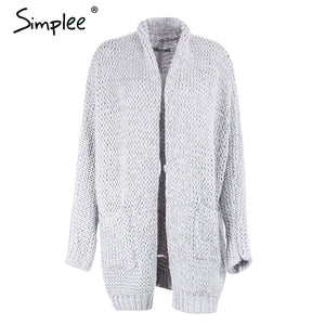 Casual Long Knitted Cardigan