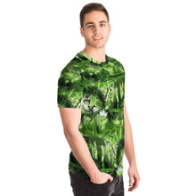 "Load image into Gallery viewer, GRAFFITI CAMOUFLAGE T-Shirt ""ForestGreen"""