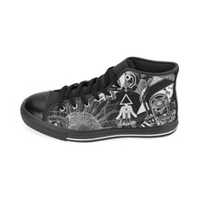 Load image into Gallery viewer, SEOUL Light And Dark Design Canvas Shoes