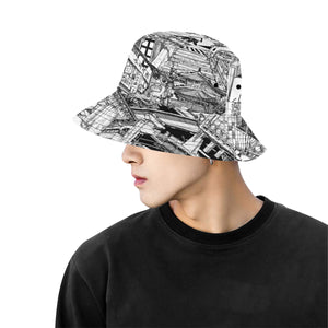 SEOUL Mens Bucket Hat
