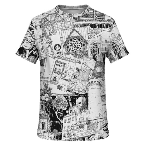 VALENCIA all over print T-Shirt