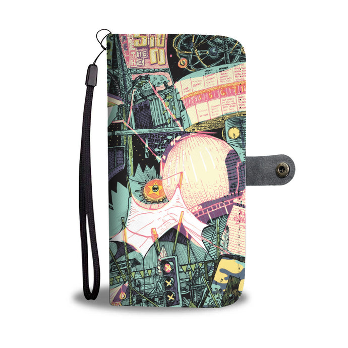 Berlin Design Wallet+Phone Case
