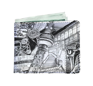 BERLIN Design Vegan Wallet