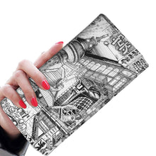 Load image into Gallery viewer, BERLIN Design Vegan Women Wallet