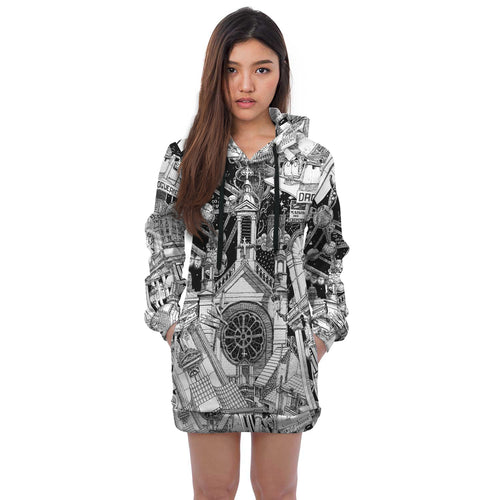 Brussels Hoodie Dress 2