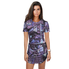 Load image into Gallery viewer, BERLIN Blue T-Shirt Dress
