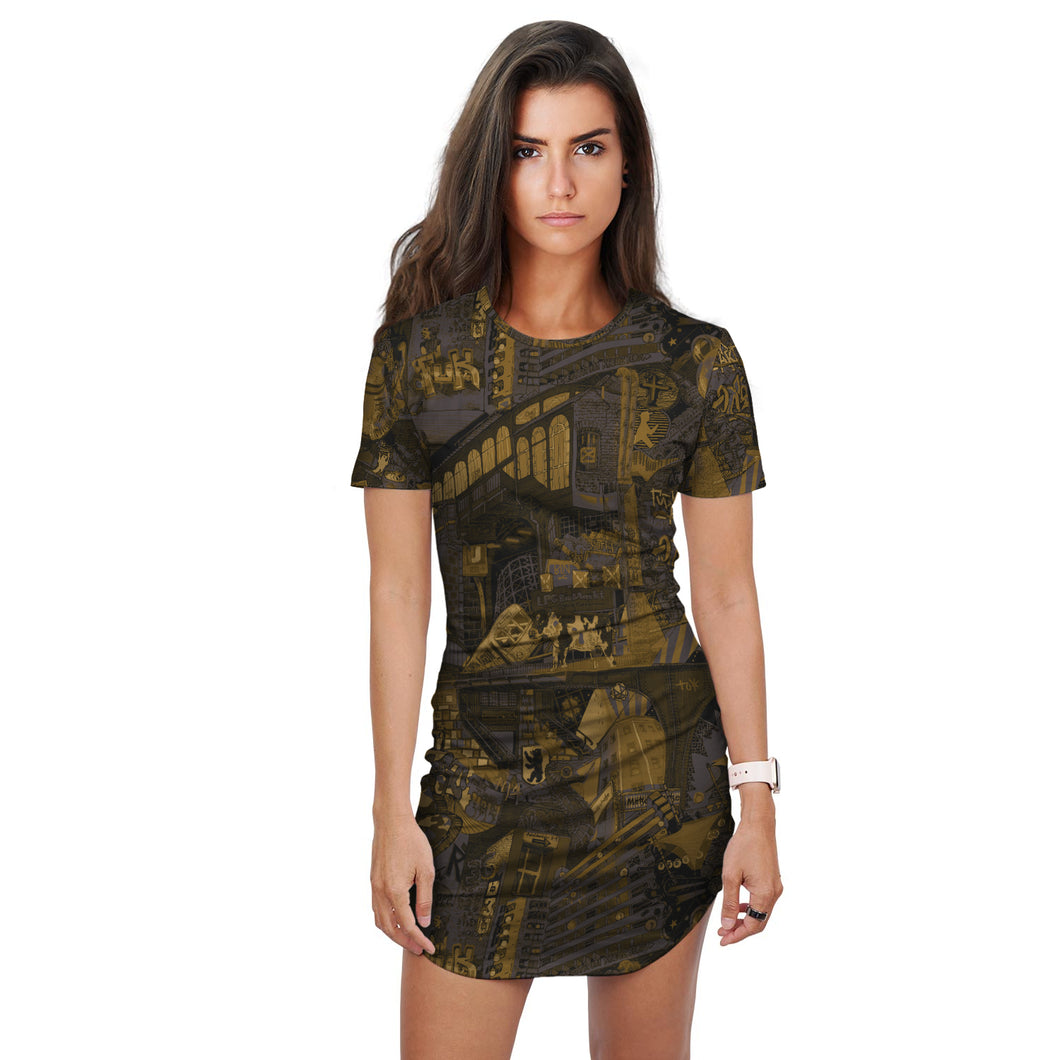 Berlin Fall T-Shirt Dress