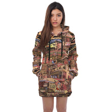 Load image into Gallery viewer, LONDON Color Hoodie Dress