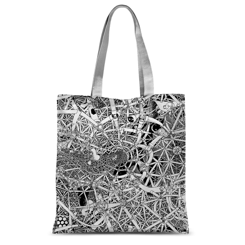 UNIVERSE Canvas Shopper