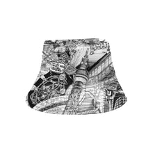 Load image into Gallery viewer, BERLIN Black and White Bucket Hat