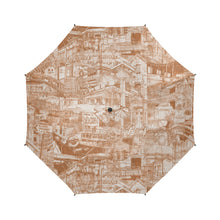 Load image into Gallery viewer, LONDON Sepia Umbrella