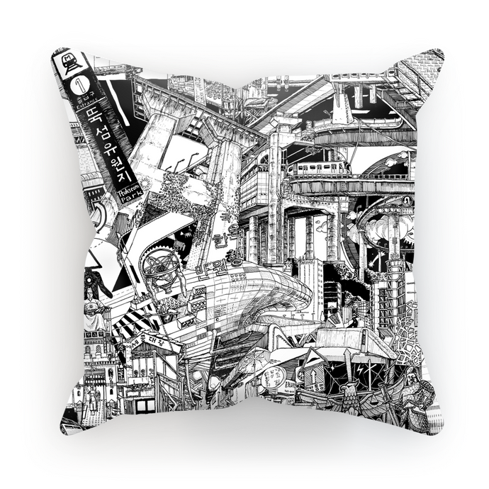 SEOUL Cushion Cover