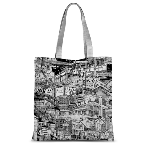 LONDON Canvas Shopper
