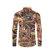 Load image into Gallery viewer, LONDON COLOR Mens Designer Shirt