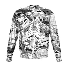 Load image into Gallery viewer, BASEL Black and White Sweatshirt