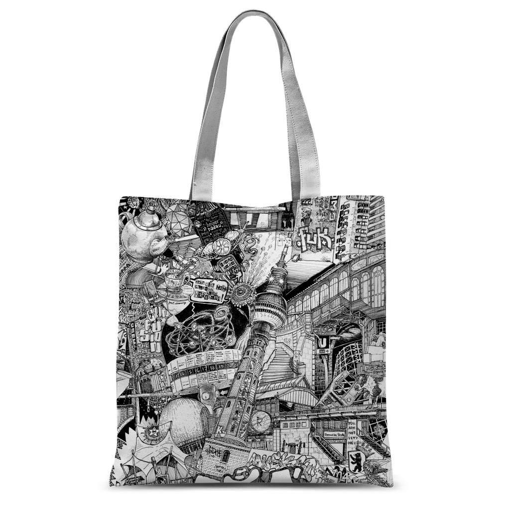 BERLIN Canvas Shopper