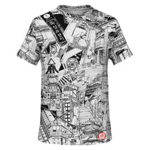 Load image into Gallery viewer, SEOUL Black and White Design T-Shirt