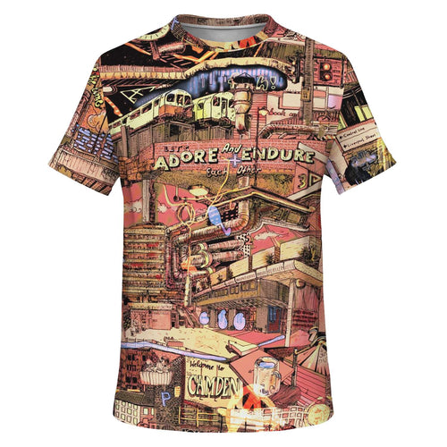 LONDON Fully Colored T-Shirt