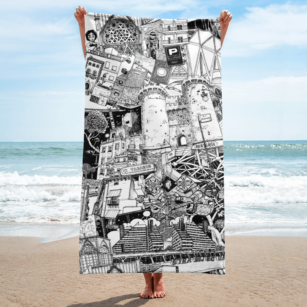 VALENCIA Beach Towel
